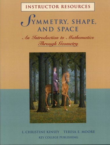 9781930190740: SYMMETRY, SHAPE, AND SPACE (INSTRUCTOR RESOURCES)