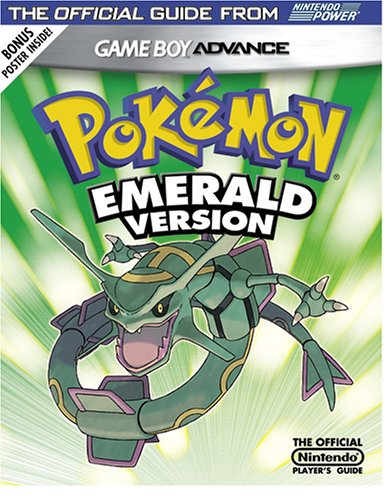 Official Nintendo Pokemon Emerald Player's Guide (1930206585) by Nintendo Power