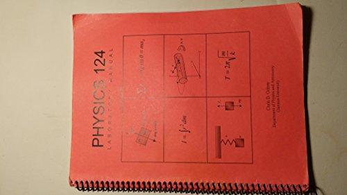 9781930208230: Physics 124 Laboratory Manual