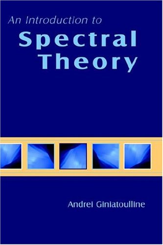 9781930217096: An Introduction to Spectral Theory