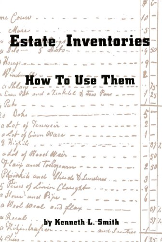 9781930353107: Estate Inventories: How to Use Them