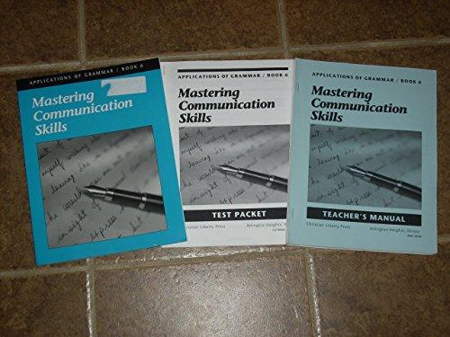 9781930367340: Mastering Communications Skills (Applications of Gram)