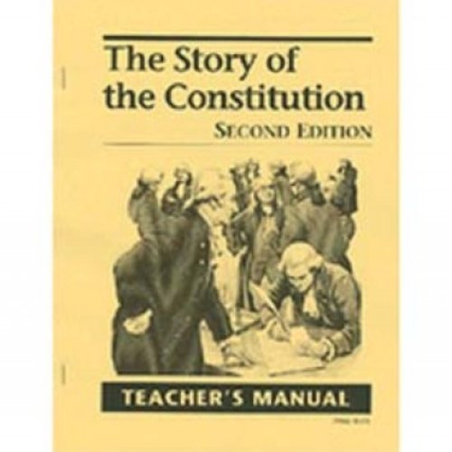 9781930367579: Story of the Constitution Answer Key