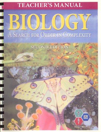 Biology 2E Teachers Manual (Misc Homeschool): John Moore