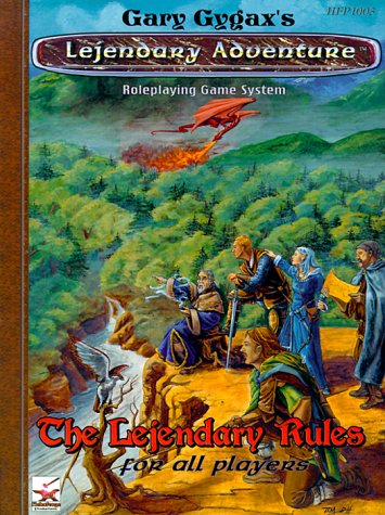 The Lejendary Rules for All Players: Gygax, Gary