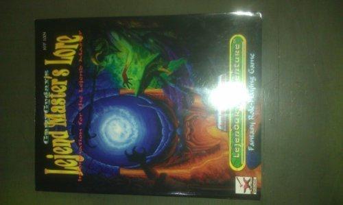 Gary Gygax's LEJEND MASTER'S LORE: Information for: Gary; Jon Robert