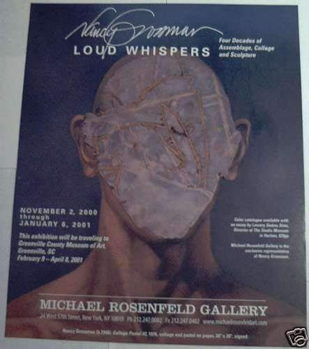 9781930416079: Nancy Grossman: Loud whispers : four decades of assemblage, collage and sculpture