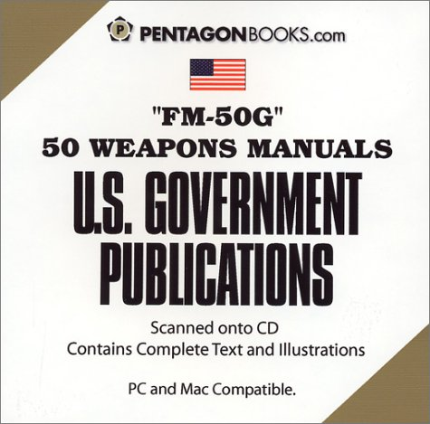 9781930422025: FM-50G: 50 Weapons Manuals on CD-ROM