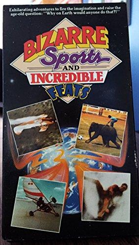 9781930440036: Bizarre Sports, Incredible Feats [VHS]