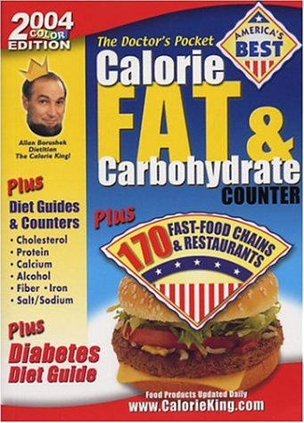 9781930448070: The Doctor's Pocket Calorie, Fat & Carbohydrate Counter