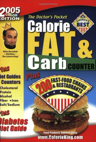 9781930448094: The Doctor's Pocket Calorie, Fat & Carb Counter