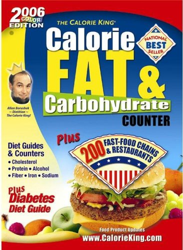 9781930448117: Calorie, Fat & Carbohydrate Counter (The Calorie King)