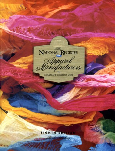 9781930512191: The National Register of Apparel Manufacturers, Women & Children's Wear, 8th Edition