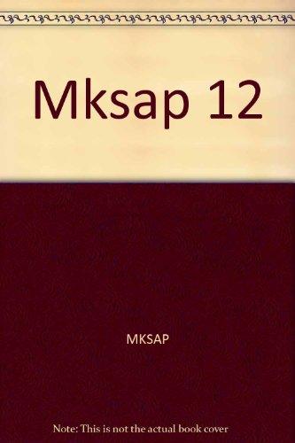 9781930513037: Mksap 12