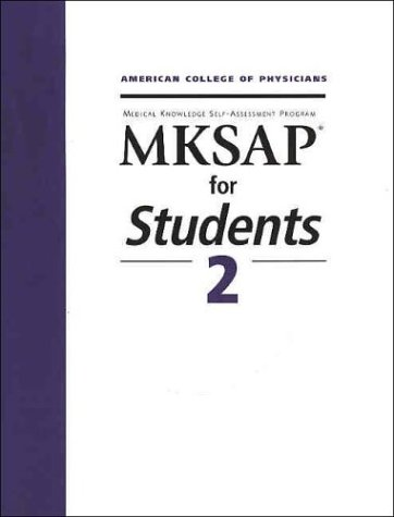 Mksap for Students 2: Medical Knowledge Self-Assessment: Patrick Alguire