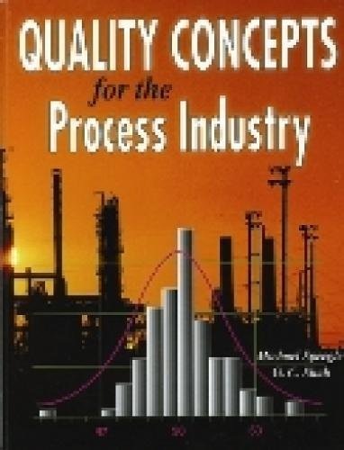 9781930528161: Quality Concepts for the Process Industry