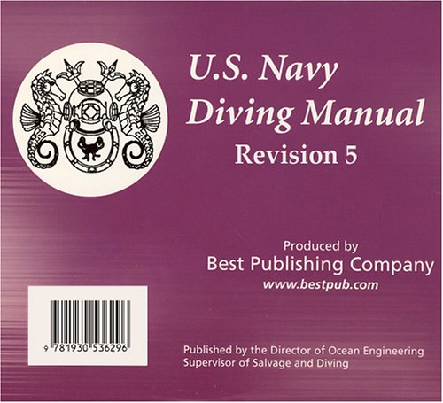 9781930536296: United States Navy Diving Manual, Revision 5