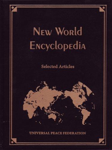 9781930549494: New World Encyclopedia: Selected Articles