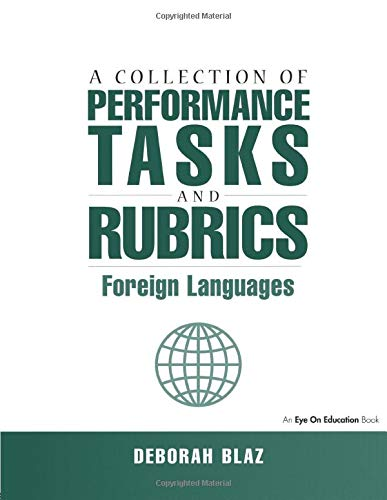 9781930556065: Collections of Performance Tasks & Rubrics