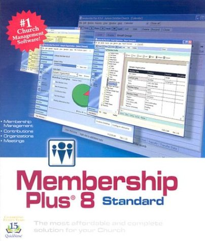 9781930594913: Membership Plus 8: The Most Affordable and Complete Solution for Your Church with Book
