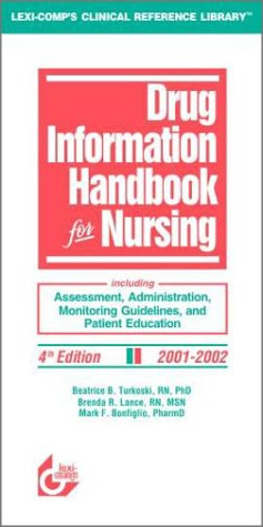 9781930598676: Drug Information Handbook for Nursing