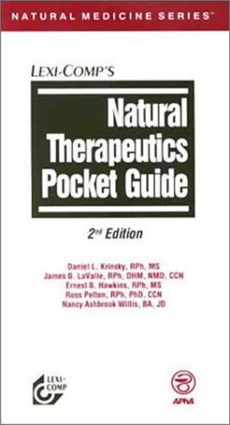 Natural Therapeutics Pocket Guide: LaValle, James B.,