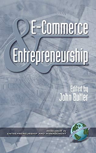 9781930608139: E-Commerce and Entrepreneurship (Hc) (Research in Entrepreneurship and Management)