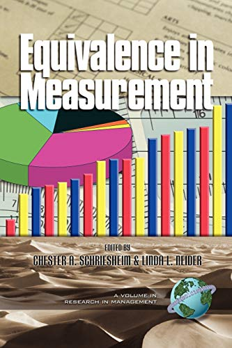 9781930608887: Equivalence in Measurement (Research in Management, V. 1)