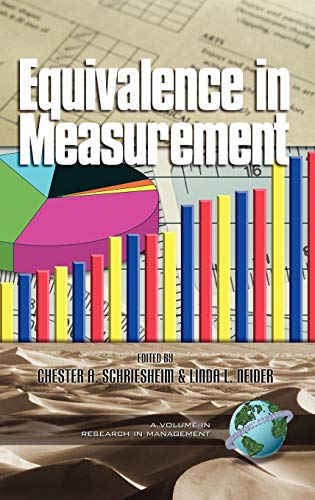 9781930608894: Equivalence in Measurement (Research in Management, V. 1)