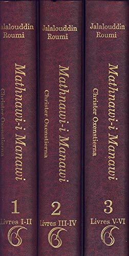 Mathnawi-I Manawi (French), 3 Vols.: Jalalu'l-Din Rumi Christer
