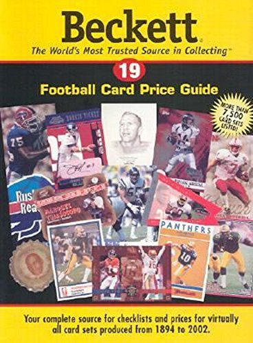 james beckett - football price guide - AbeBooks