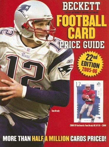 9781930692411: Beckett Football Card Price Guide