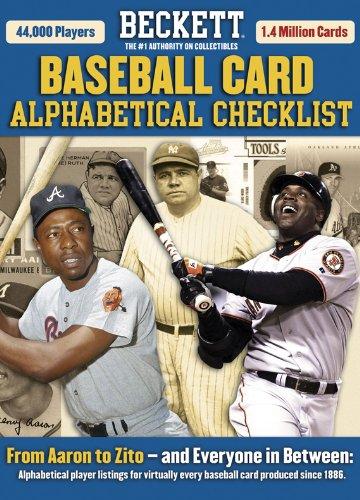 Beckett Baseball Card Alphabetical Checklist: Beckett, James