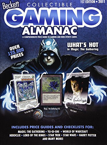 9781930692947: Beckett Collectible Gaming Almanac 2011: A Comprehensive Price Guide to Gaming and Non-sports Cards
