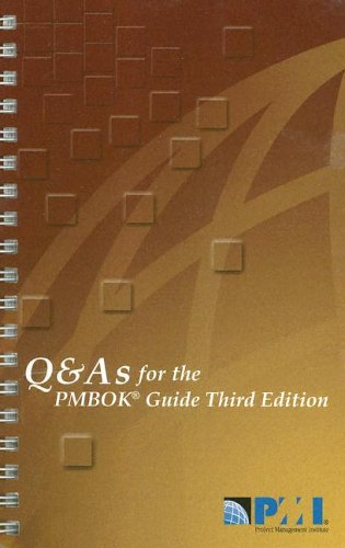 9781930699397: Q & A's for the PMBOK Guide