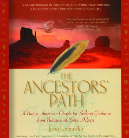 9781930722163: The Ancestors' Path: A Native American Oracle for Seeking Guidance from Nature and Spirit Helpers