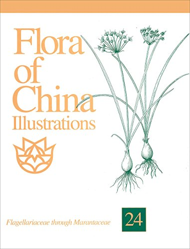 Flora of China ILLUSTRATIONS, Volume (24) Twenty-Four,