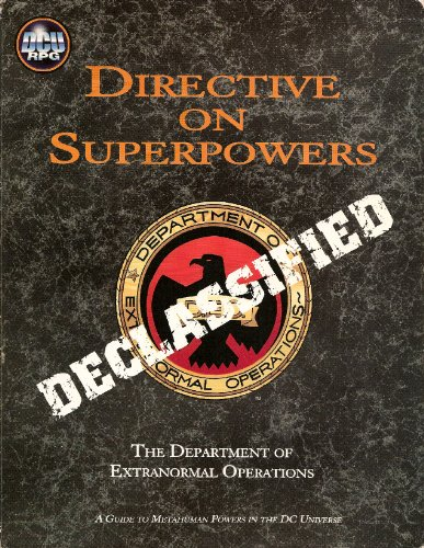9781930753082: Directive on Superpowers