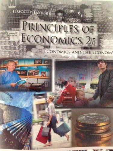 Principles of Economics: Economics and the Economy,
