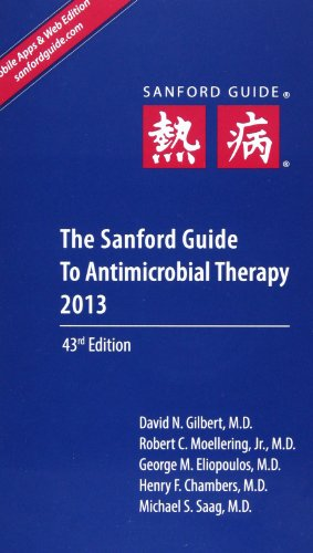 9781930808751: The Sanford Guide to Antimicrobial Therapy 2013