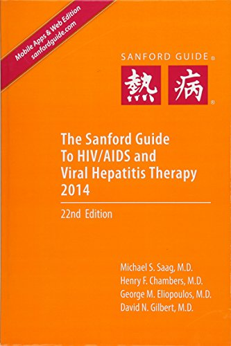 9781930808829: The Sanford Guide to HIV/AIDS Therapy 2014 (Library Edition)