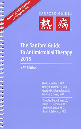 9781930808850: Sanford Guide to Antimicrobial Therapy 2015 (Spiral Edition)