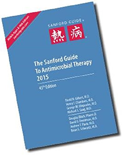 9781930808867: Sanford Guide to Antimicrobial Therapy 2015 (Library Edition)