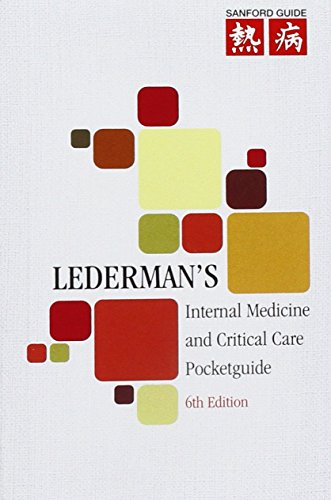 9781930808980: Lederman's Internal Medicine and Critical Care Pocketguide