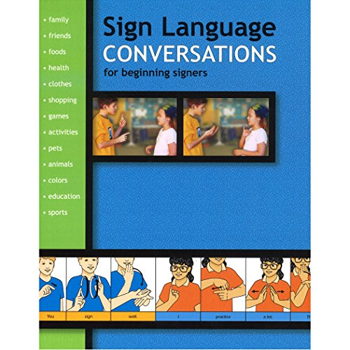 9781930820128: Sign Language Conversations for Beginning Signers (Sign Language Materials)