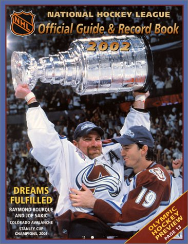 The National Hockey League Offical Guide and Record Book 2002 (1930844344) by Dan Diamond