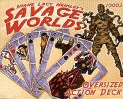 9781930855601: Savage Worlds: Action Deck (GWG10003)