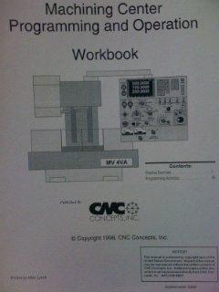 9781930861015: Machining Center Programming and Operation Workbook