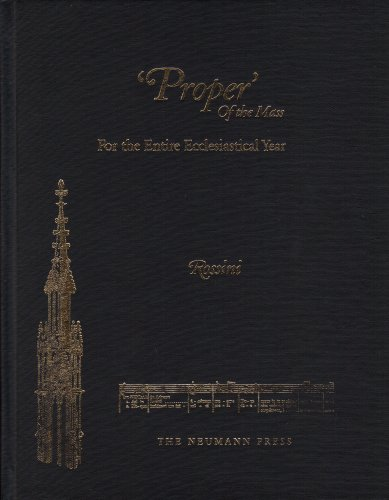 9781930873773: 'Proper' of the Mass for the Entire Ecclesiastical Year