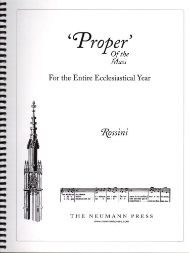 9781930873780: 'Proper' of the Mass for the Entire Ecclesiastical Year